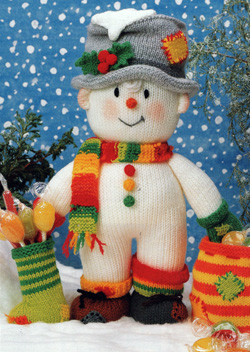 Snowman Knitting Pattern | eBay