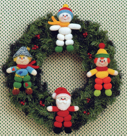 FREE KNITTING PATTERNS FOR CHRISTMAS TOYS   KNITTING PATTERN